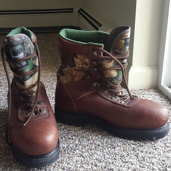 60f78416282 Wolverine Gore-Tex sport steel toe boot